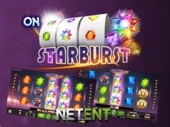 Starburst от NetEnt – виртуальный игровой слот